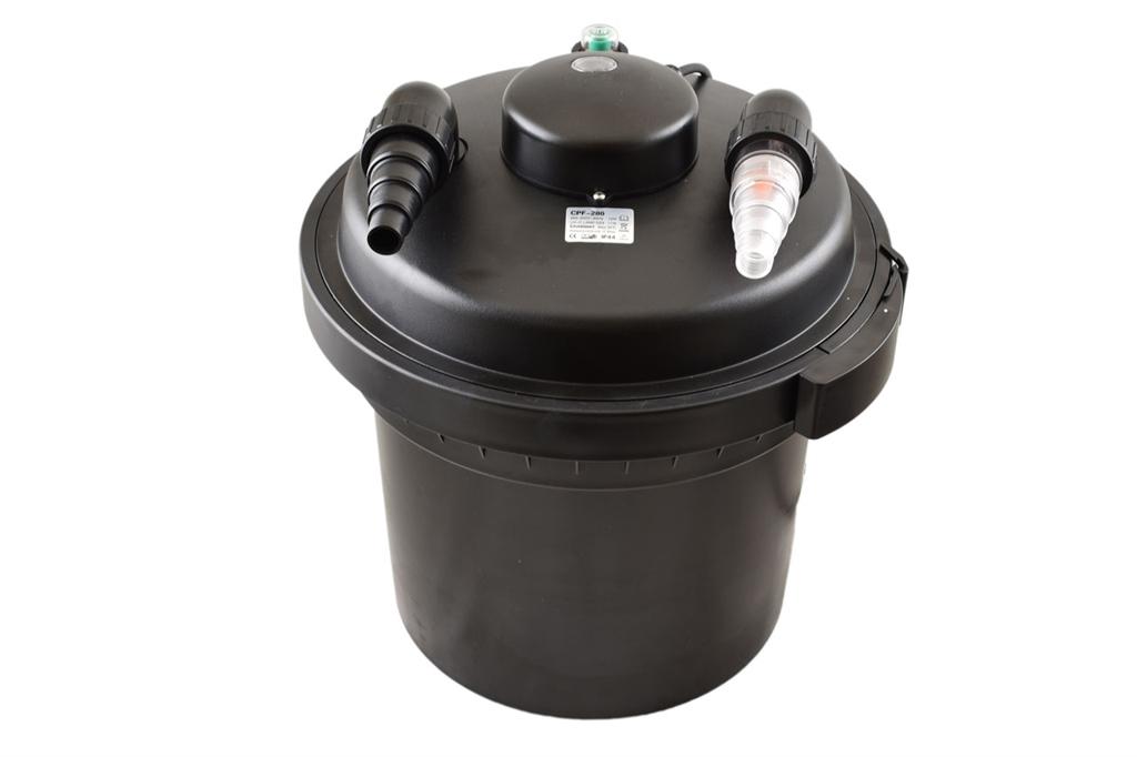 500 Bio Druckfilter Teichfilter UVC 11.000 bis 30.000 Liter CPF 280 380